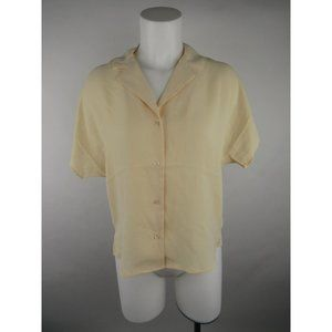 Frank And Oak NWT Polyester Button Down Shirt